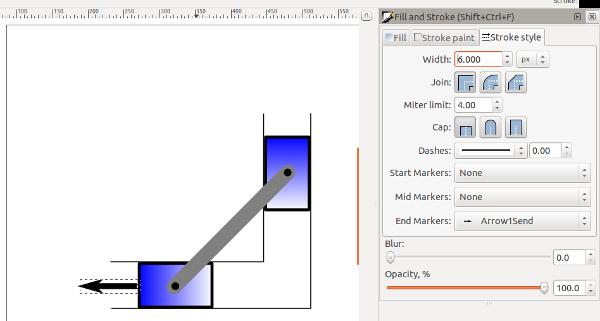 Inkscape Free Body Diagram Tutorial | Engineering Graphics in Design